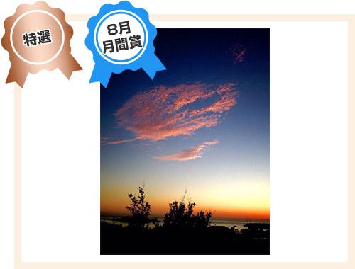 特選「夕空に浮かぶ雲」