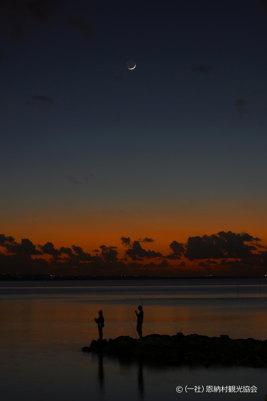 優秀賞「漁港の夕焼け」